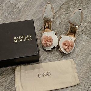 Badgley Mischka Thora Pink 6.5 size shoes
